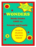 Wonders McGraw Hill Study Guides Unit 1 Grade 2
