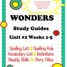 Wonders McGraw Hill Study Guides Unit 2 Grade 2