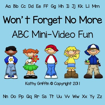 Won't Forget No More for the Smart Board, IWB, or Computer