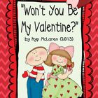 Won&#039;t You Be My Valentine (A Valentine Memory Booklet)
