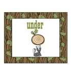 Woodland Winter Math and Literacy Unit Freebie