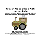 Woodland Winter Trains: ABC, 1-100, word & number walls, w