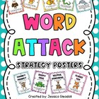 Word Attack Posters Freebie