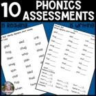 Word Attack Skills Assessments (RTI intervention)