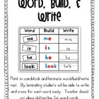 Word, Build, Write Activity {Literacy Centers}