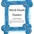 Word Chunk Posters for the Primary Classroom