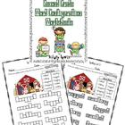 Word Configurations-Worksheets for Reading Street Spelling