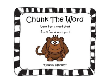 Word Decoding Strategies - Jungle, Zebra, Animal Theme