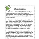 Word Detective for Primary Sight Words