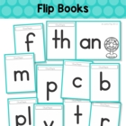 Word Families - Flip Books (Short Vowel)