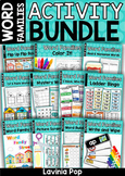 Word Families - Short Vowel MEGA BUNDLE Part 1