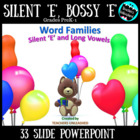 Word Families - Silent/Bossy 'E' & Long Vowels
