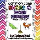 Word Families Unit for Short O Common Core