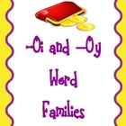 Word Families -oi and -oy