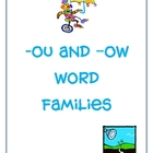 Word Families -ou and -ow