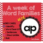 Word Family - ap family
