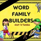Word Family Builders