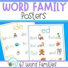 Word Family Charts