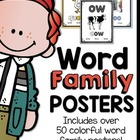 Word Family Displays