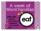 Word Family - EAT family