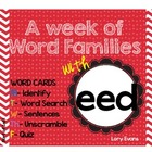 Word Family - eed family
