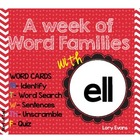 Word Family -ELL family
