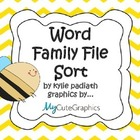 Word Family File Sort