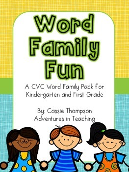 Word Family Fun- CVC