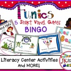 Word Family Funics: Short Vowel BINGO Games {Common Core C