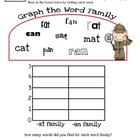 Word Family Graphing Level 1