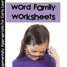 Word Family Handwriting Workbook