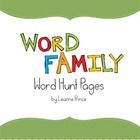 Word Family Hunts!