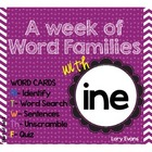 Word Family - ine family