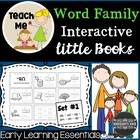 Word Family Interactive Little Books: Set #1