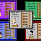 Word Family Ladders Power Point Lessons