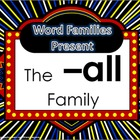 Word Family Packet (The -all Family)
