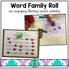 Word Family Roll