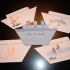 Word Family Shape Books