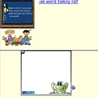 Word Family Smartboard Activity Sample Page