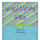Word Family Sorting Mats -et and -en