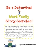 Word Family Story Searches