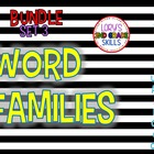 Word Family Units... Set 3 (13 word families)