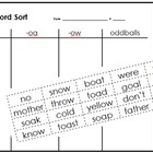 Word Family Word Sort