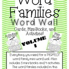 Word Family Word Wall Cards, Mini-Books, and {Think Sheets