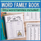 Word Family Workbook