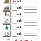 Word Family Worksheets (4 Letter Words)