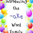 Word Family -ake (Common Core Aligned)