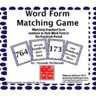 Word Form Matching Game (Place Value in the Hundreds)