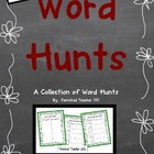 Word Hunts: Independent Work Time