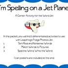 Word Jet Differentiated Activities